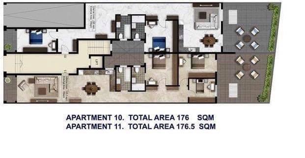 Gozo Il-Qala Penthouse P000196814