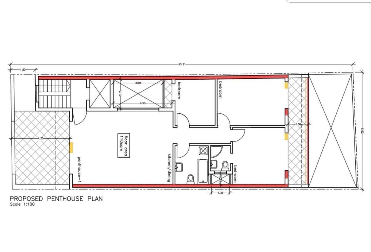 Luqa Penthouse P000222598