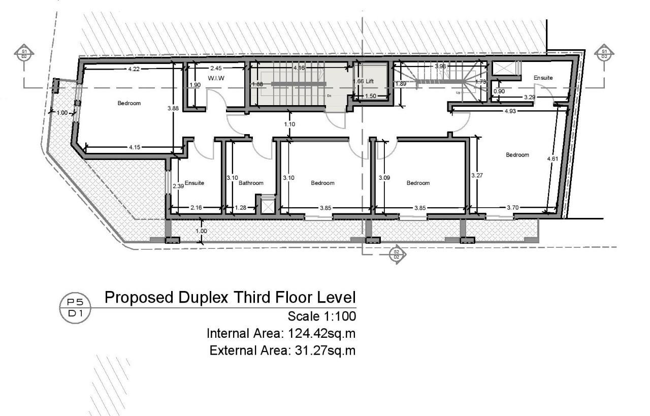 Bahar ic-Caghaq Duplex Penthouse P000227746